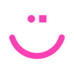 smiley rose fluo